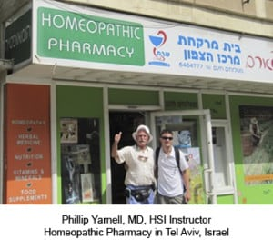 Phillip Yarnell, MD HSI Instructor at Zafon Homeopathic Pharmacy in Tel Aviv, Israel