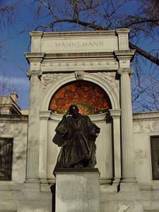 Hahnemann's statue