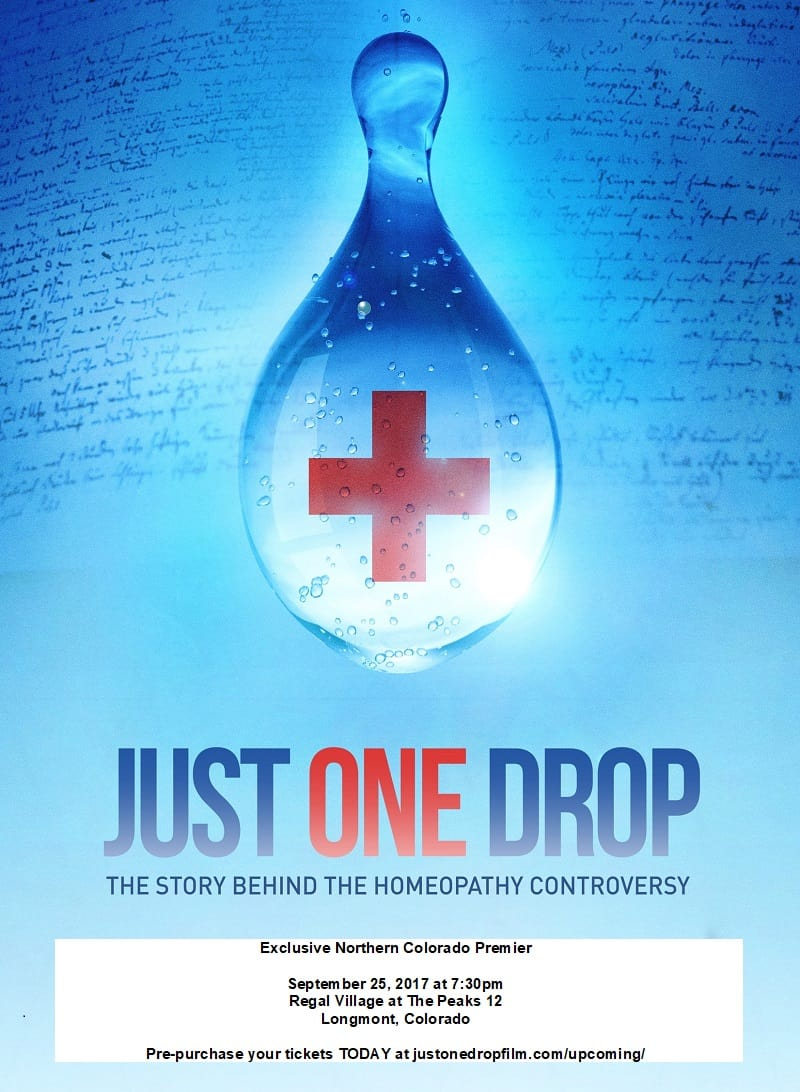 Just One Drop Poster
