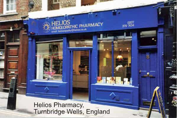 Helios Pharmacy in Turnbridge Wells, England